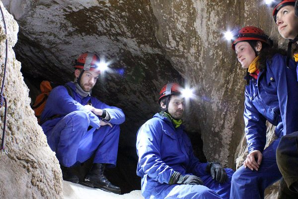 Caving Adventure in Northern Norway