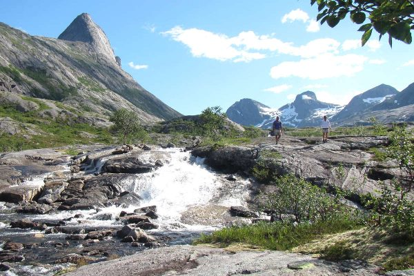 hiking day trip bodø waterfall northern norway