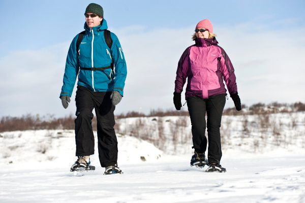 snowshoeing tour northern norway winter hiking experience